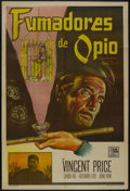 "Movie Posters:Adventure, Confessions of an Opium Eater (Allied Artists, 1962). ArgentineanPoster (29"" X 43""). Adventure...."