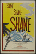 "Movie Posters:Western, Shane (Paramount, R-1959). One Sheet (27"" X 41""). Western...."