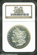 Patterns: , 1879 $1 Morgan Dollar, Judd-1613, Pollock-1809, R.6, PR62 ...