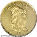 Early Quarter Eagles: , 1796 $2 1/2 No Stars MS60 NGC. Bass-3002, R.5. The first ...
