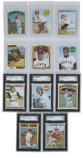 Baseball Cards:Sets, 1963 through 1975 Topps Collection (160).Offered is a collection of 160 cards with tons of stars. Highlights from this nice ...