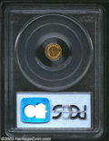 California Fractional Gold: , 1852 25C Indian Round 25 Cents, BG-891, R.6, MS64 PCGS. ...