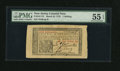 Colonial Notes:New Jersey, New Jersey March 25, 1776 1s PMG About Uncirculated 55 EPQ....