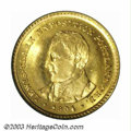 Commemorative Gold: , 1904 G$1 Lewis and Clark MS65 PCGS. Bright with ...
