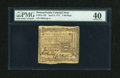 Colonial Notes:Pennsylvania, Pennsylvania April 3, 1772 2s PMG Extremely Fine 40....