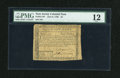 Colonial Notes:New Jersey, New Jersey June 9, 1780 $4 PMG Fine 12....