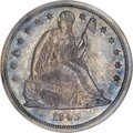 Proof Seated Dollars, 1843 $1 PR64 NGC....