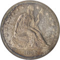 Proof Seated Dollars, 1847 $1 PR63 NGC. CAC....