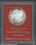 Additional Certified Coins: , 1883-S $1 Morgan Dollar MS65 Paramount (MS60). Ex: ...