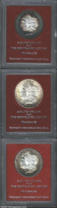 Additional Certified Coins: , 1889-S $1 MS65 Paramount (MS61), well struck and flashy ... (3coins)