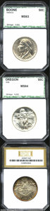 Additional Certified Coins: , 1935/34-D 50C Boone Half Dollar MS63 PCI (MS63), ... (3 coins)
