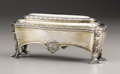 Silver & Vertu:Hollowware, Imperial Russian Silver Toilet Box from the Wedding Service of Grand Duchess Maria Nikolaevna and Maximilian, Duke of Leuchten... (Total: 2 Items)