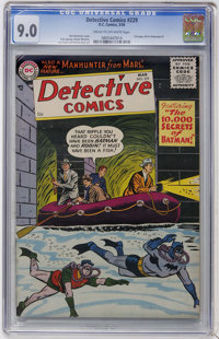 Detective Comics #229 (DC, 1956) CGC VF/NM 9.0 Cream to off-white pages