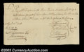 Stocks and Bonds:Certificates with Significant Autographs, Oliver Ellsworth - Revolutionary War Pay Order