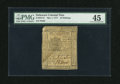 Colonial Notes:Delaware, Delaware May 1, 1777 10s PMG Choice Extremely Fine 45....