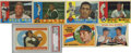 Baseball Cards:Sets, 1960 Topps Baseball Complete Set (572).Offered is a 1960 Topps baseball complete set in overall solid middle grade. Some of ...