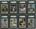 Football Cards:Sets, 1975 Topps Football Complete Set (528).Offered is a high grade 1975 Topps Football Complete set w/#'s 12 Blount (NM), 39 Ble...