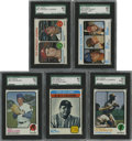 Baseball Cards:Sets, 1973 Topps Baseball Complete Set (660).Offered is a mid to high grade set of 1973 Topps Baseball. This set contains the high...