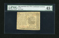 Colonial Notes:Continental Congress Issues, Continental Currency September 26, 1778 $20 PMG Choice ExtremelyFine 45 EPQ....