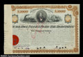 Stocks and Bonds:Certificates with Significant Autographs, William Rockefeller - Chicago, Rock Island and Pacific Rail ...