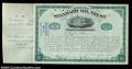 Stocks and Bonds:Certificates with Significant Autographs, John D. Rockefeller - Standard Oil Trust (New York)