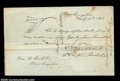 Stocks and Bonds:Certificates with Significant Autographs, Daniel Webster - Promissory Note