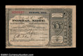 Miscellaneous:Postal Currency, Newark, OH Postal Note