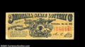 Early Montana Lottery Ticket. This $1 lottery ticket from the Montana State Lottery Co., dated Wednesday, November 22, 1...