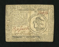 Colonial Notes:Continental Congress Issues, Continental Currency February 17, 1776 $3 Extremely Fine-AboutNew....