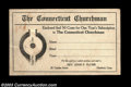 Miscellaneous:Other, Turn-of-the-Century Subscription Card. This cardboard card ...