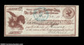 Miscellaneous:Other, 1877 Carson City, Nevada Check. This elaborate early check ...