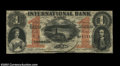 Canadian Currency: , Toronto - International Bank of Canada $1 Sept. 15, 1858 ...