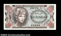 Series 651 50c Gem New. The price has dropped precipitously on this formerly very rare note since the large group we rec...