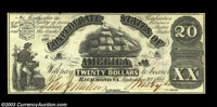 T18 $20 1861. Choice Crisp Uncirculated, about as nice as one could expect for the type or grade