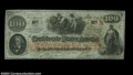 Confederate Notes:1862 Issues, T41 $100 1862. A bright, well centered example of the ...