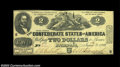 Confederate Notes:1862 Issues, T42 $2 1862. A very nice example which is considerably ...