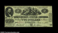 Confederate Notes:1862 Issues, CT42 Counterfeit $2 1862. Very Fine-Extremely Fine, a ...