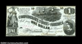 Confederate Notes:1862 Issues, T44 $1 1862. An uncommonly nice Lucy Pickens note, ...