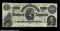 Confederate Notes:1862 Issues, T49 $100 1862. A broadly margined Lucy Pickens note with ...