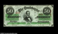 Confederate Notes:1863 Issues, T57 $50 1863. A fully original Jefferson Davis $5o with ...