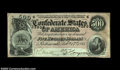 Confederate Notes:1864 Issues, T64 $500 1864. Although this type is by no means rare, it ...