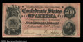 Confederate Notes:1864 Issues, T64 $500 1864. A nicely margined example with barely any ...