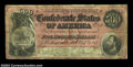 Confederate Notes:1864 Issues, T64 $500 1864. A decent Fine++ example of the last ...