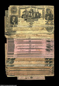 Confederate Notes:Group Lots, Confederate Group Lot. Included are a T20, CT20 ... (24 notes)