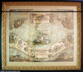 Confederate Notes:Group Lots, Neat Confederate Framed Oleograph. Produced in Milwaukee ...