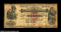 Fayetteville, AR- The Town of Fayetteville $2 1872 Rothert 193-4 A very scarce note which is listed as R-7 in the Rother...