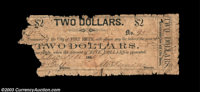 Fort Smith, AR - City of Fort Smith $2 Dec. 19, 1861 UNL Another unlisted variety (and denomination) that was issued in...