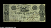 Macon, GA- Bank of Macon $10 July 4, 1831 G20 A seldom seen note, particularly in this state of preservation. Very Fine-...