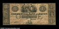 Obsoletes By State:Georgia, Macon, GA- Commercial Bank at Macon $1 Oct. 10, 1845 G2