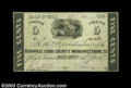 Obsoletes By State:Georgia, Roswell, GA- Roswell Cobb County Manufacturing Co. 5¢ Oct. ...